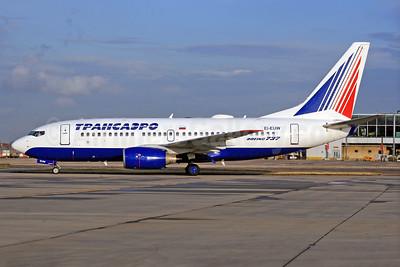 Transaero Airlines Boeing 737-7Q8 EI-EUW (msn 29350) LHR (SPA). Image: 940581.