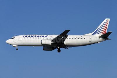 Transaero Airlines Boeing 737-4Y0 EI-DDY (msn 24904) LGW (Antony J. Best). Image: 900584.