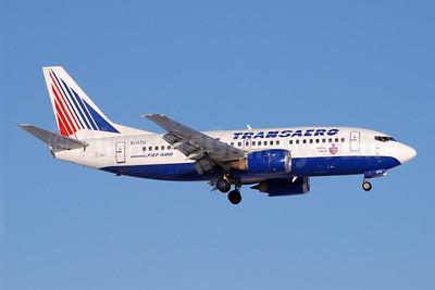 Transaero Airlines Boeing 737-5Y0 EI-DTU (msn 25175) (Official Carrier CSKA) DME (OSDU). Image: 904598.