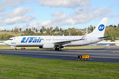 UTair Aviation (Russia) Boeing 737-8LP WL VP-BUL (msn 41707) BFI (Joe G. Walker). Image: 913818.