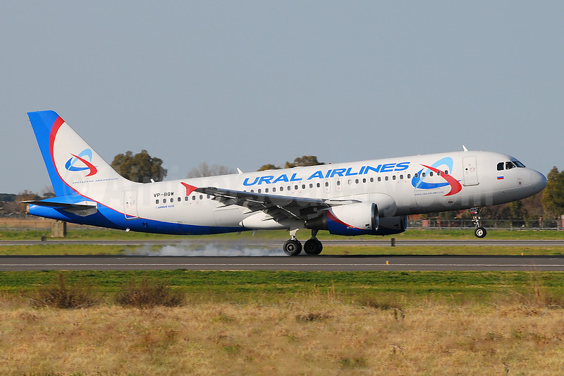 Ural Airlines Airbus A320-214 VP-BQW (msn 2947) FCO (Marco Finelli). Image: 937175.