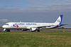 Ural Airlines Airbus A321-211 VQ-BKJ (msn 815) SNN (Malcolm Nason). Image: 906219.