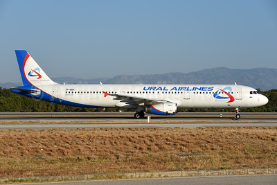 Ural Airlines Airbus A321-231 VP-BBH (msn 2862) AYT (Ton Jochems). Image: 939722.
