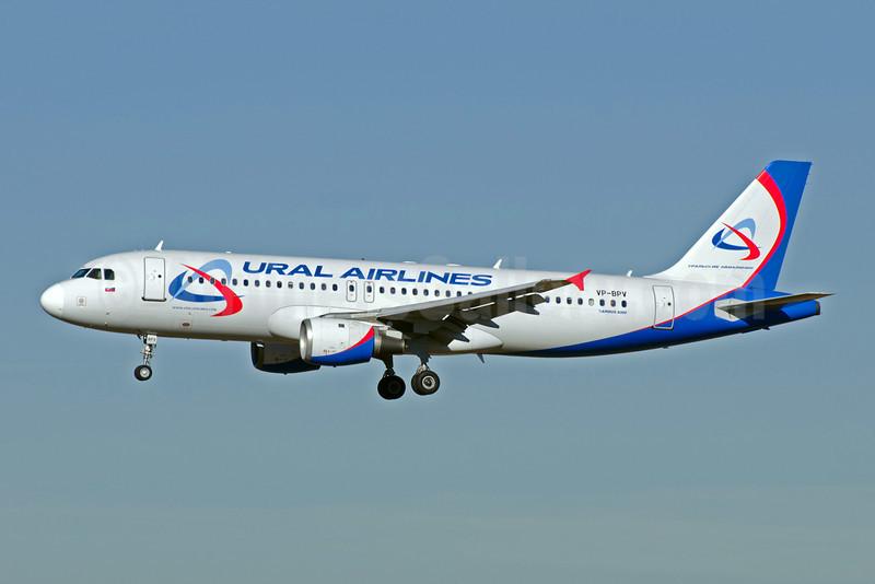 Ural Airlines Airbus A320-211 VP-VP-BPV (msn 203) MUC (Felix Gottwald). Image: 907412.