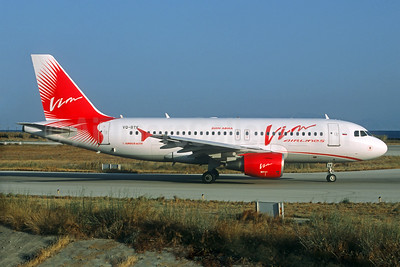 VIM Airlines (VIM Avia) Airbus A319-111 VQ-BTK (msn 3403) RHO (Jacques Guillem Collection). Image: 933006.