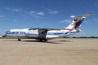 Volga-Dnepr Airlines Ilyushin Il-76TD-90VD RA-76952 (msn 0043452555) (20 Years) CLT (Jay Selman). Image: 402158.