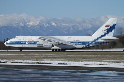 Volga-Dnepr Airlines Antonov An-124-100 RA-82044 (msn 9773054155109) (25 Years) PAE (Nick Dean). Image: 944729.