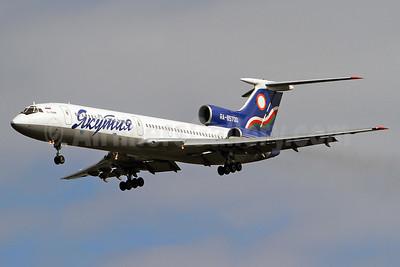 Yakutia Airlines (Yakutia Aircompany) Tu-154M RA-85700 (msn 91A875) VKO (Keith Burton). Image: 925014.