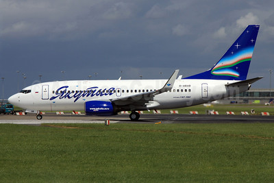 Yakutia Airlines (Yakutia Aircompany) Boeing 737-76Q WL D-ABAB (VQ-BLS) (msn 30227) DUB (Paul Doyle). Image: 906440.