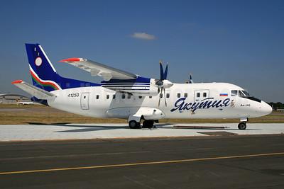 Yakutia Airlines (Yakutia Aircompany) Antonov An-140-100 RA-41250 (msn 05A001) FAB (SPA). Image: 931922.