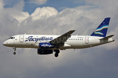 Yakutia Airlines (Yakutia Aircompany) Sukhoi Superjet 100-95LR RA-89038 (msn 95038) NRT (Rainer Bexten). Image: 938015.