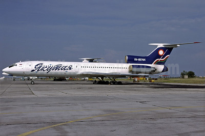 Yakutia Airlines (Yakutia Aircompany) Tupolev Tu-154M RA-85794 (msn 93A978) YKS (Richard Vandervord). Image: 925015.