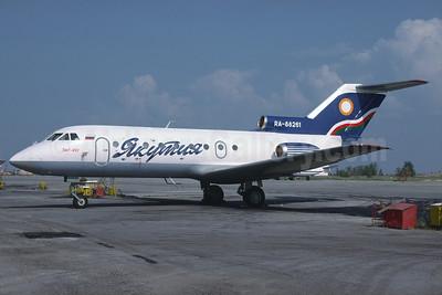 Yakutia Airlines (Yakutia Aircompany) Yakovlev Yak-40 RA-88261 (msn 9711652) YKS (Richard Vandervord). Image: 925016.