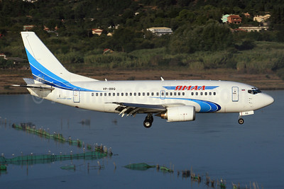 Yamal Airlines Boeing 737-528 VP-BRQ (msn 25230) CFU (SPA). Image: 942703.