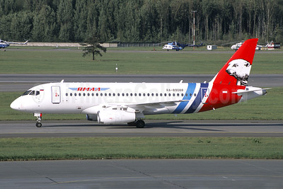 Yamal Airlines Sukhoi Superjet 100-95B RA-89088 (msn 95130) DME (Jacques Guillem Collection). Image: 946498.
