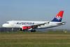 Air Serbia Airbus A319-132 A6-SAA (msn 1140) ZRH (Andi Hiltl). Image: 922678.
