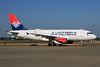 Air Serbia Airbus A319-132 YU-APD (msn 2335) LHR (SPA). Image: 934171.