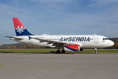 Air Serbia Airbus A319-132 YU-APE (msn 3252) ZRH (Rolf Wallner). Image: 939698.
