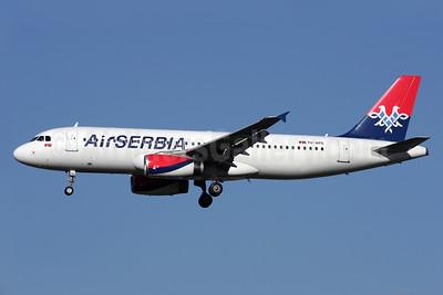 Air Serbia Airbus A320-232 YU-APG (msn 2587) LHR (Antony J. Best). Image: 926593.