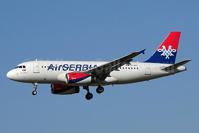 Air Serbia Airbus A319-131 YU-APC (msn 2621) ZRH (Paul Bannwarth). Image: 934172.