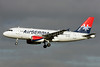 Air Serbia Airbus A319-132 A6-SAA (msn 1140) LHR (Antony J. Best). Image: 921364.