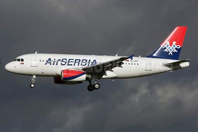 Air Serbia Airbus A319-132 YU-APF (msn 3317) LHR (Antony J. Best). Image: 922030.