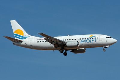 Aviolet (Air Serbia) Boeing 737-3H9 YU-ANI (msn 23416) PMI (Eurospot). Image: 938616.