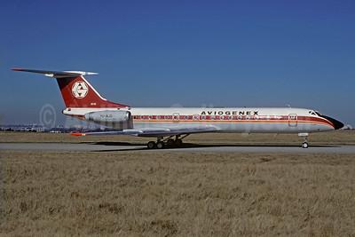 Aviogenex Tupolev Tu-134A-3 YU-AJD (msn 2351508) ORY (Jacques Guillem). Image: 923441.