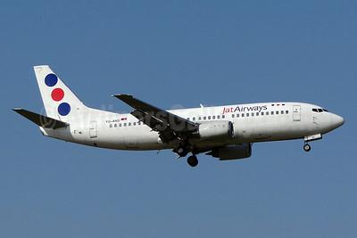 Jat Airways Boeing 737-3H9 YU-AND (msn 23329) ZRH (Paul Bannwarth). Image: 913740.