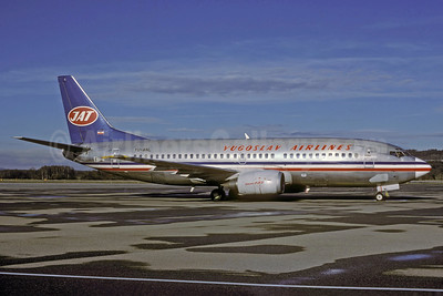 JAT-Yugoslav Airlines Boeing 737-3H9 YU-ANL (msn 23716) ZRH (Rolf Wallner). Image: 921092.
