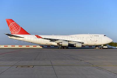 Air Cargo Global Boeing 747-433 (F) OM-ACJ (msn 25075) PRG (Ton Jochems). Image: 944384.