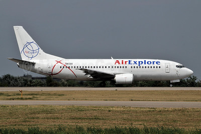 AirExplore Boeing 737-382 OM-BEX (msn 24365) BLQ (Marco Finelli). Image: 907015.