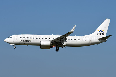 AirExplore-AXE Boeing 737-8AS WL OM-GEX (msn 29919) BRU (Karl Cornil). Image: 947427.