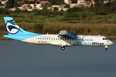Danube Wings (DanubeWings.eu) ATR 72-202 OM-VRA (msn 373) CFU (Wingnut). Image: 901445.