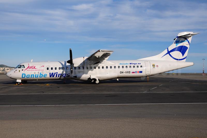Danube Wings (Danube Wings.eu) ATR 72-202 OM-VRD (msn 177) (Jura) NCE (Ton Jochems). Image: 909812.