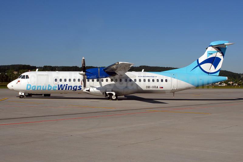 Danube Wings (DanubeWings.eu) ATR 72-202 OM-VRA (msn 373) ZRH (Rolf Wallner). Image: 912438.