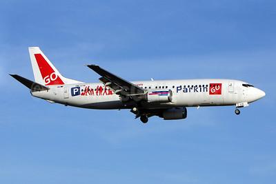 Go2Sky' parkingo.com logo jet