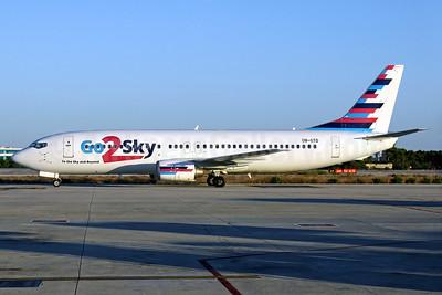 Go2Sky Boeing 737-46J OM-GTD (msn 27171) PMI (Javier Rodriguez). Image: 934187.