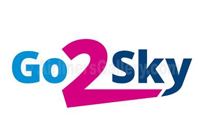 1. Go2Sky logo