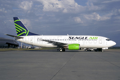 Seagle Air Boeing 737-33A OM-HLB (msn 25011) BTS (Christian Volpati Collection). Image: 941220.