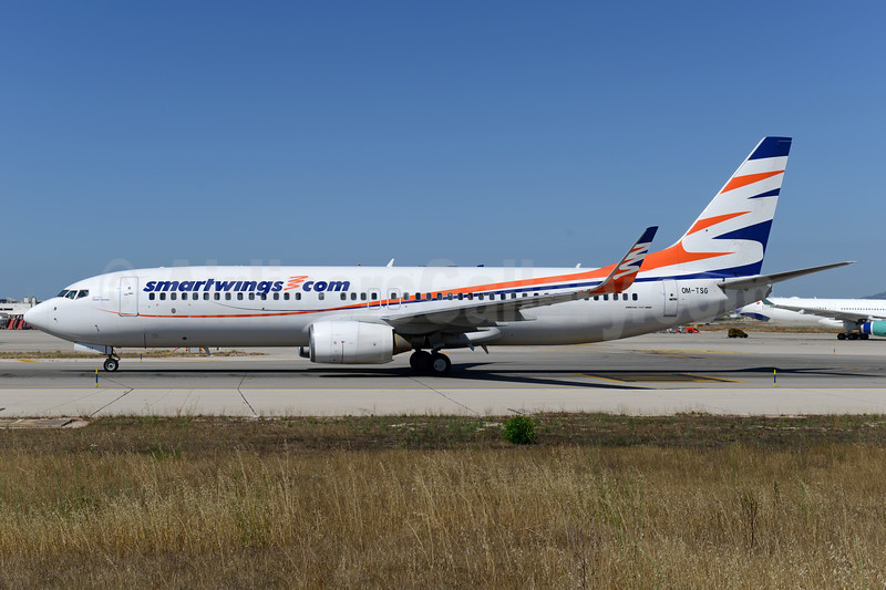 Smartwings.com (Travel Services Airlines Slovakia) Boeing 737-82R WL OM-TSG (msn 30666) PMI (Ton Jochems). Image: 938345.
