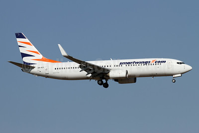Smartwings.com (Travel Services Airlines Slovakia) Boeing 737-81Q WL OM-HEX (msn 30785) AYT (Andi Hiltl). Image: 946926.