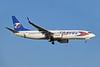 Travel Service Airlines (Slovakia) Boeing 737-86N WL OM-TVA (msn 32243) AYT (Paul Denton). Image: 909520.