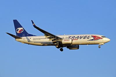 Travel Service Airlines (Slovakia) Boeing 737-86N WL OM-TVR (msn 38018) AYT (Paul Denton). Image: 909679.