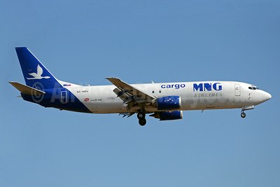 MNG Airlines Cargo-Solinair Boeing 737-4K5 (SF) S5-ABV (msn 24128) JNB (TMK Photography). Image: 920573.