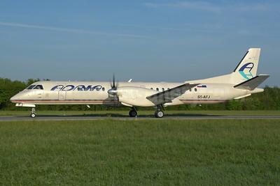 Adria Airways SAAB 2000 S5-AFJ (msn 011) ZRH (Rolf Wallner). Image: 946435.