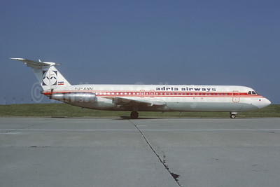 Adria Airways BAC 1-11 525FT YU-ANN (msn 272) (TAROM colors) ORY (Jacques Guillem). Image: 925671.