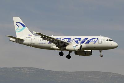 Adria Airways Airbus A319-132 S5-AAR (msn 4301) GVA (Paul Denton). Image: 909717.