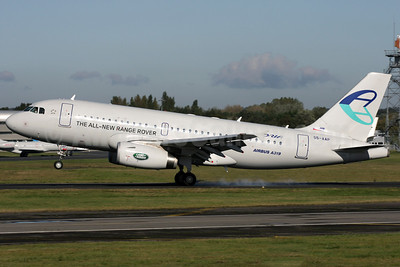 Adria Airways Airbus A319-132 S5-AAP (msn 4282) (Land Rover - The All-New Range Rover) FAB (Antony J. Best). Image: 909478.