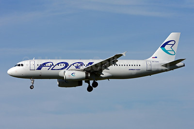 Adria Airways Airbus A320-231 S5-AAS (msn 444) ZRH (Andi Hiltl). Image: 906450.